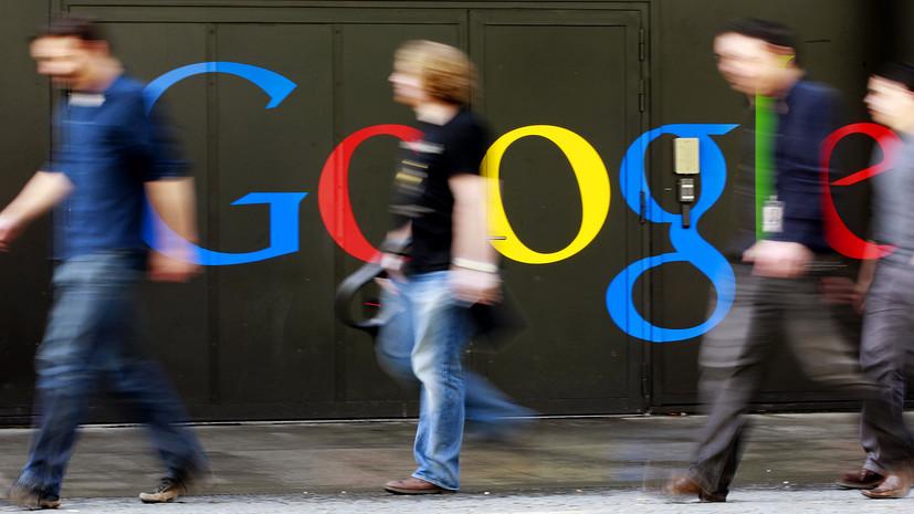 Google пояснил намерение ранжировать RT и Sputnik в новостной выдаче
