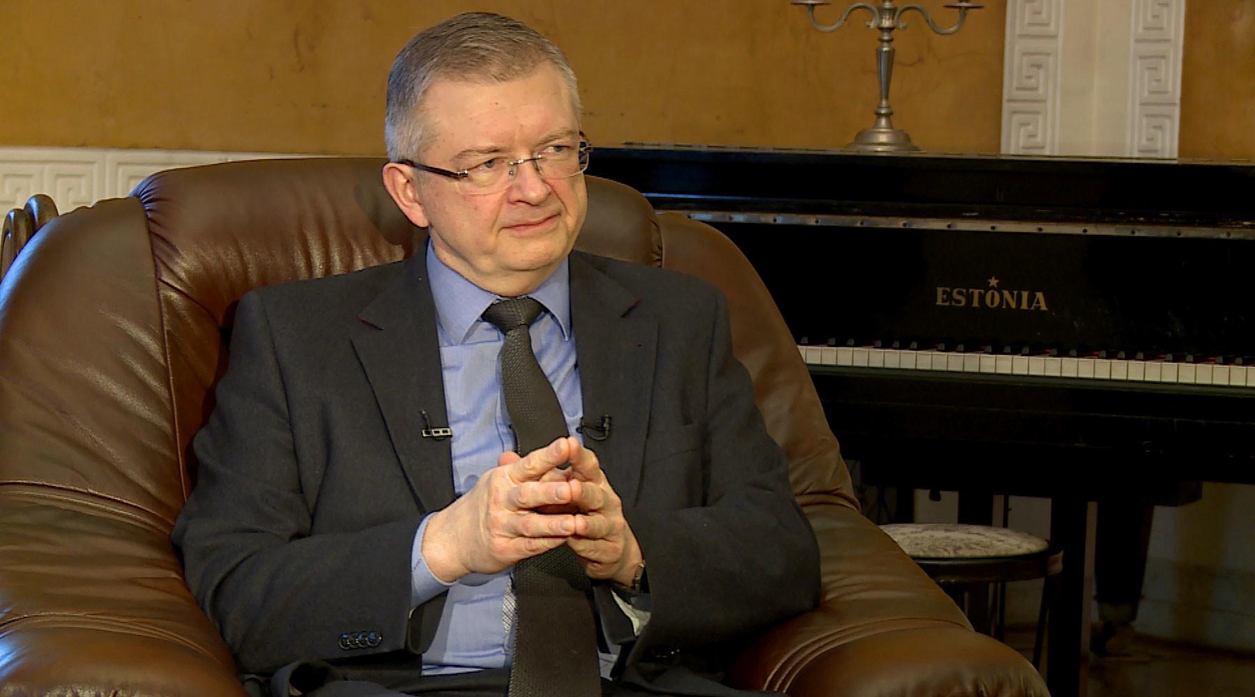 посол РФ в Польше Андреев в интервью RT»