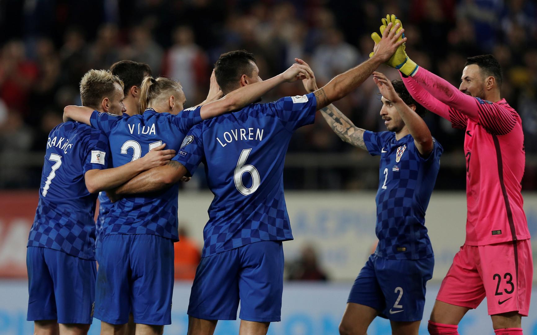 Успешная стыковка: сборные Швейцарии и Хорватии прошли на ЧМ-2018 по футболу в России
