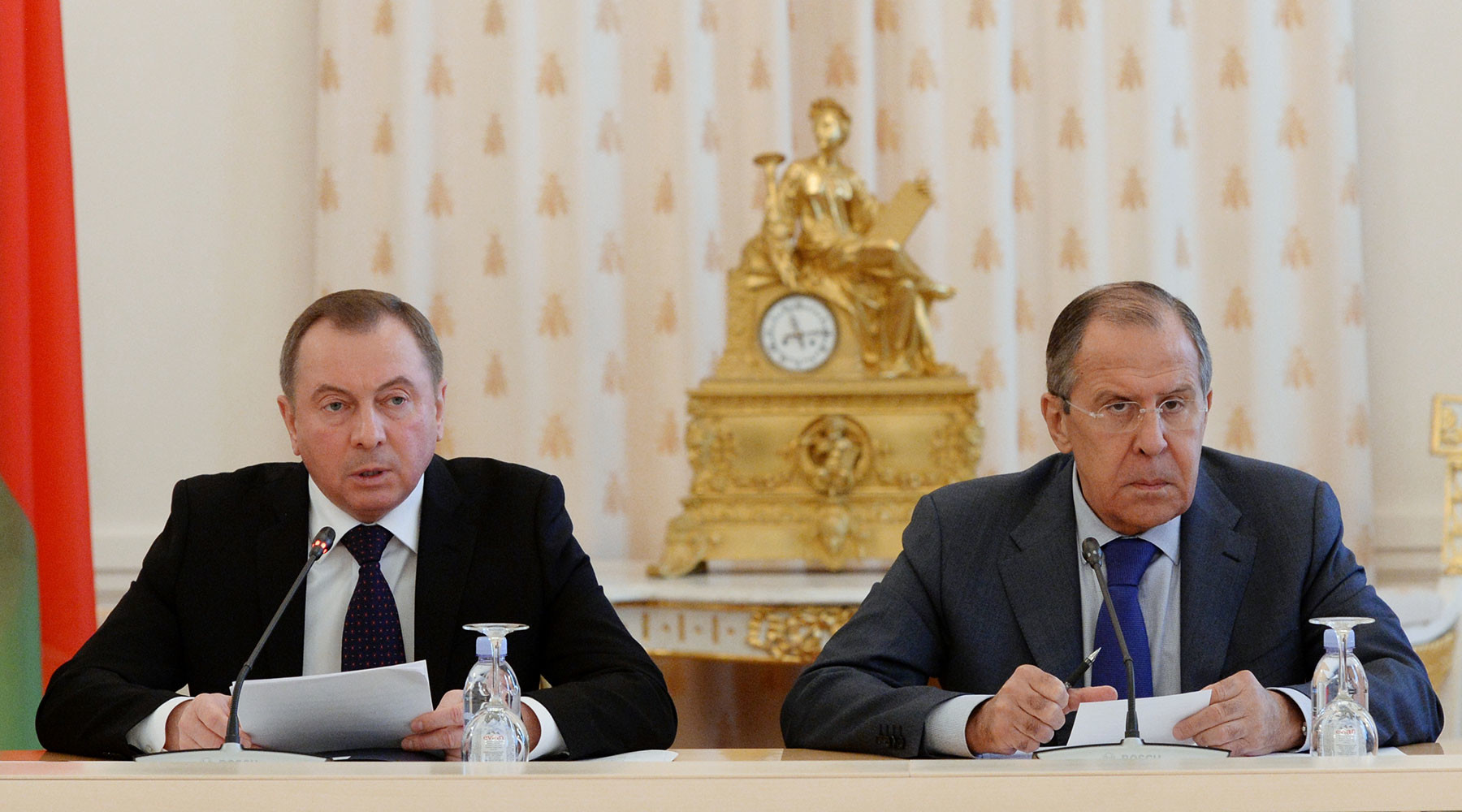 какие вопросы планируют обсудить главы МИД России и Белоруссии»