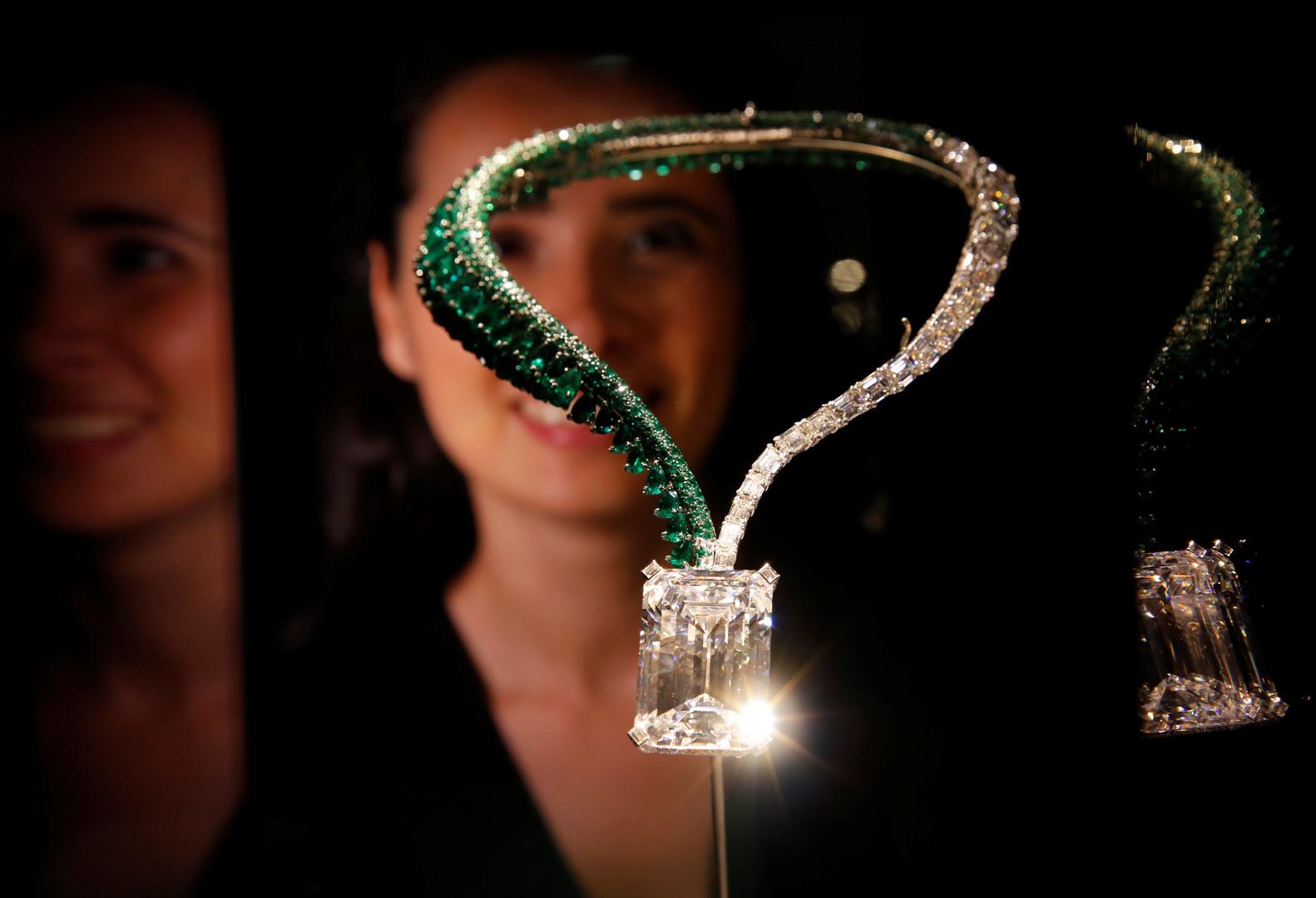 Крупнейший вмире бриллиант продан зарекордную сумму