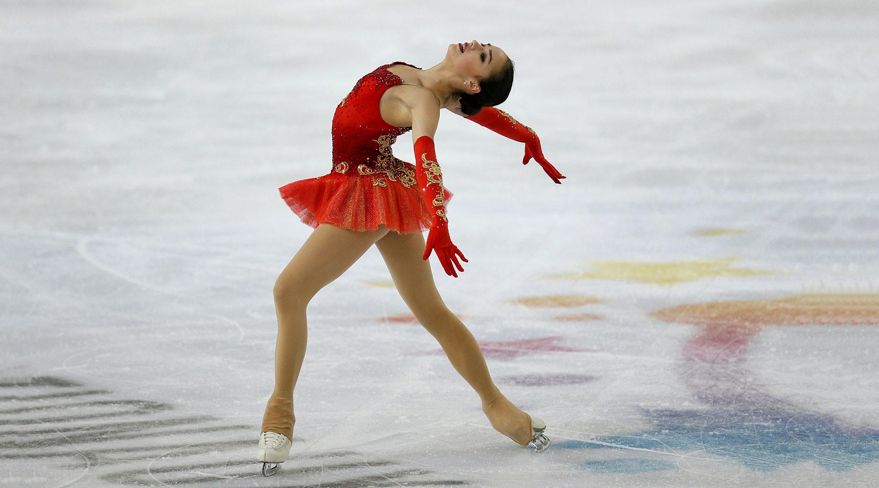 Фигуристка Загитова одолела наэтапе Гран-при воФранции
