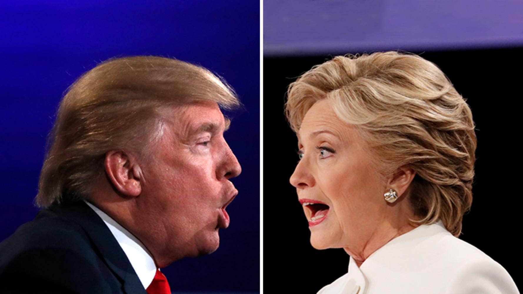 почему Клинтон и Трамп не могут остановиться во взаимных нападках»