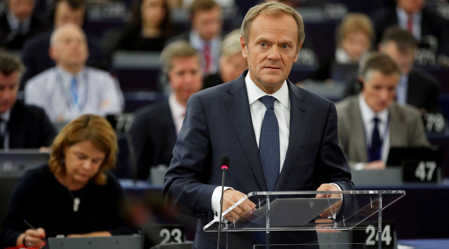 «Нельзя спать спокойно»: глава Евросовета обвинил Польшу в исполнении «плана Кремля»