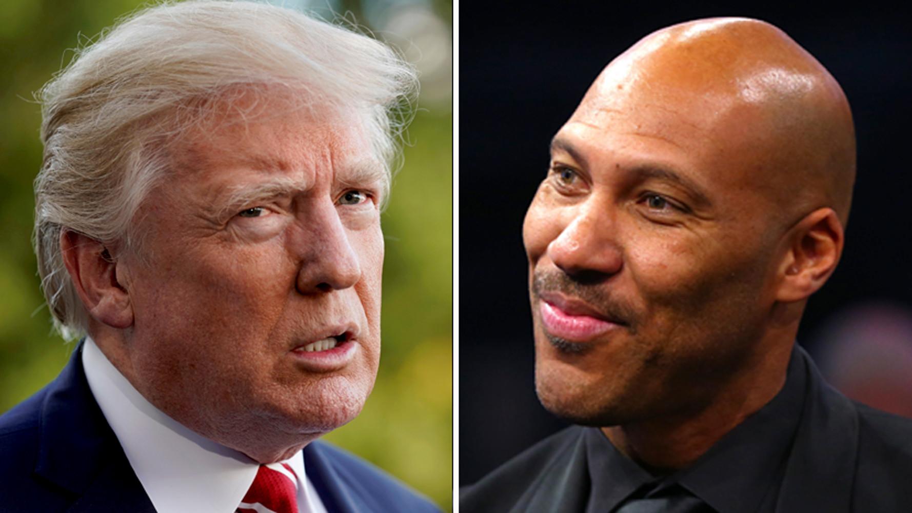 Трамп возмутился поведением отца баскетболиста, арестованного в Китае за кражу»