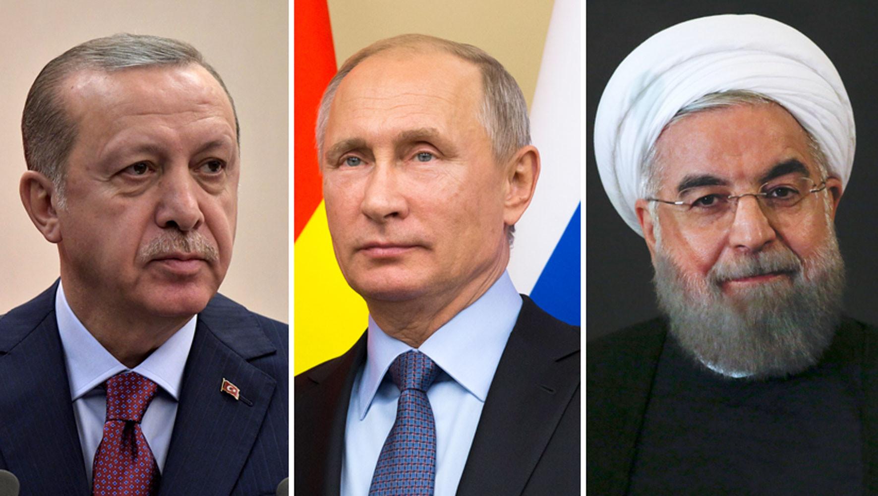 что обсудят президенты России, Турции и Ирана в Сочи»