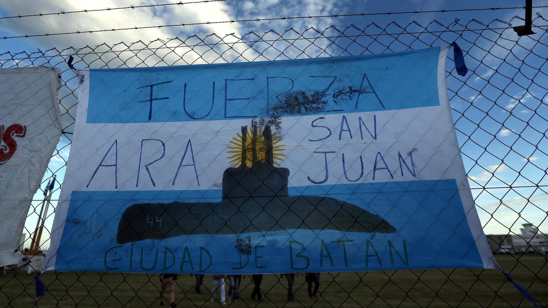 МинобороныРФ направило судно «Янтарь» напоиски пропавшей аргентинской подлодки