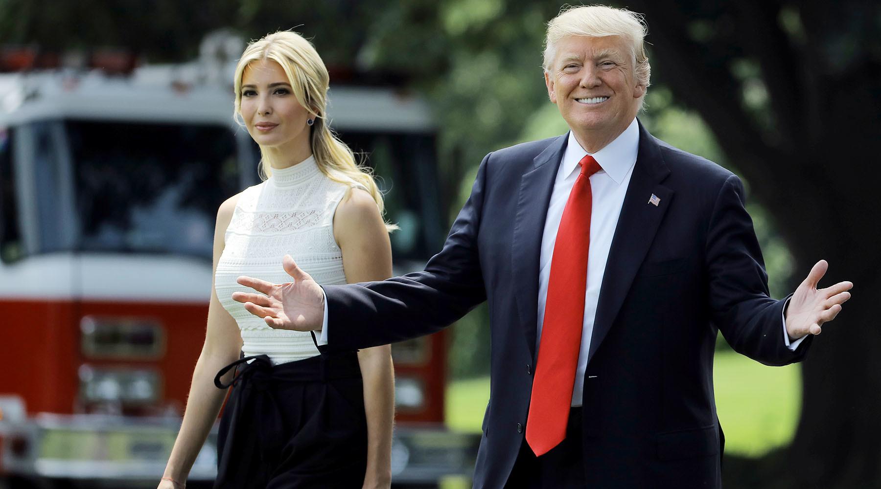 Как в Вашингтоне борются с влиянием старшей дочери президента Иванкой Трамп
