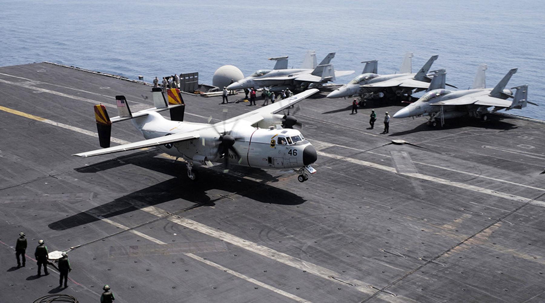 ВФилиппинском море случилось крушение самолета с военнослужащими США