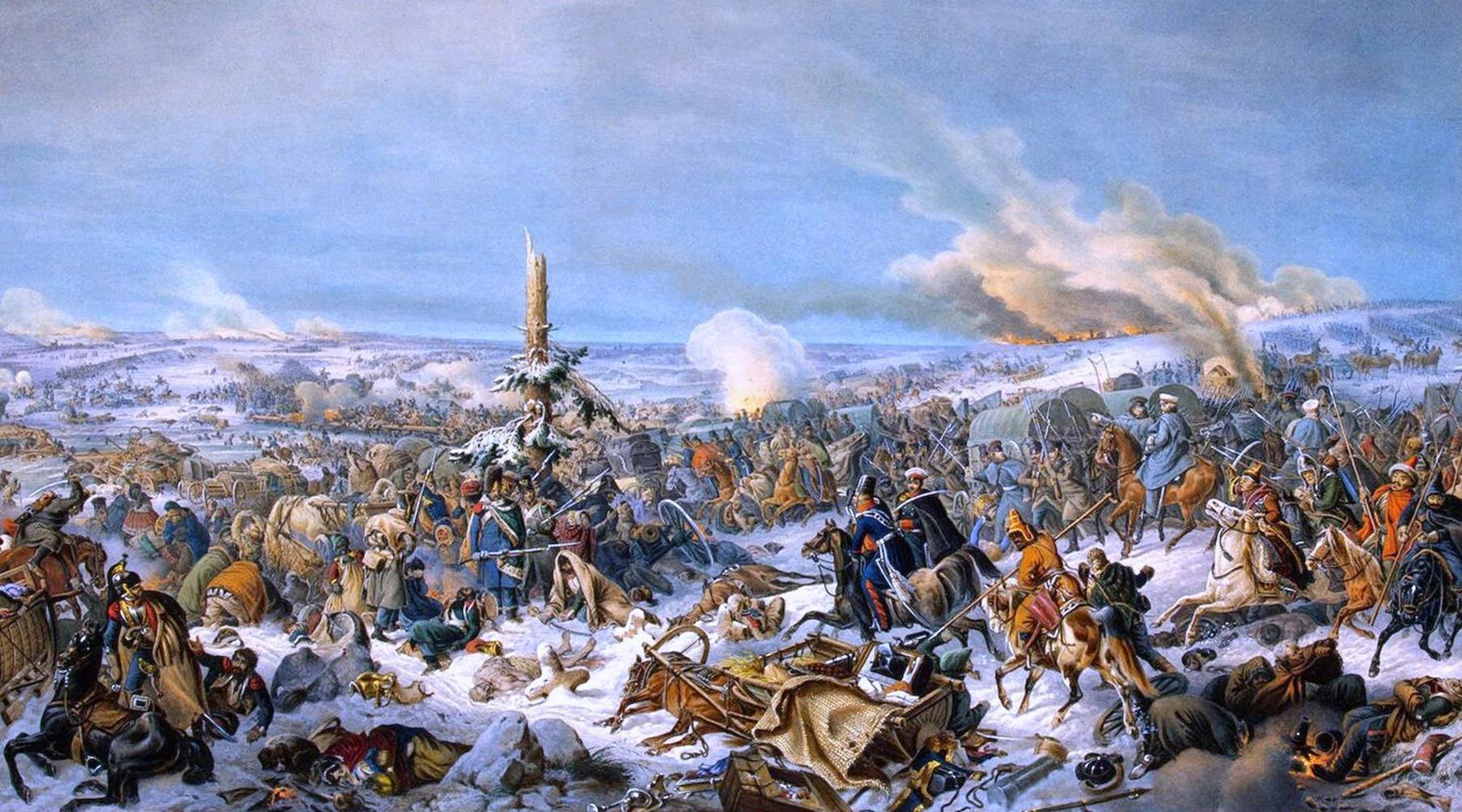 как битва на реке Березине сломала Наполеона
