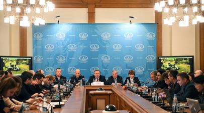 Совместный брифинг МИД России, Минобороны России и Минпромторга России