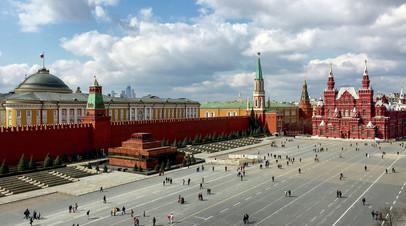 Мавзолей В.И. Ленина, Красная площадь