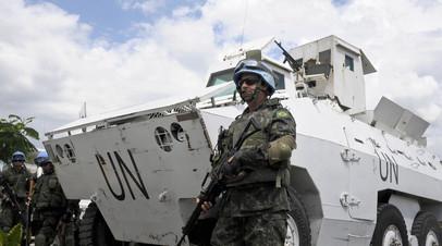 Миротворческие силы ООН