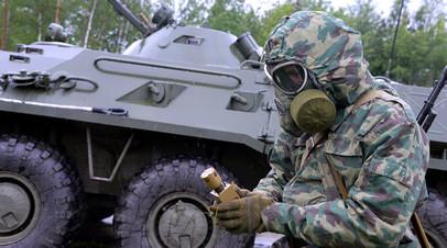 Военнослужащий войск РХБЗ