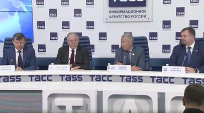 «Действия США в отношении RT — нарушение американской конституции»: Железняк на пресс-конференции комиссии Совфеда
