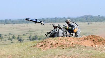 Американский противотанковый комплекс Javelin