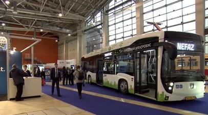 Экологически чистый городской транспорт: в Москве представили новую модель электробуса