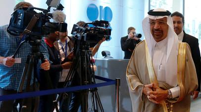 Президент ОПЕК и министр энергетики Саудовской Аравии Халид аль-Фалих