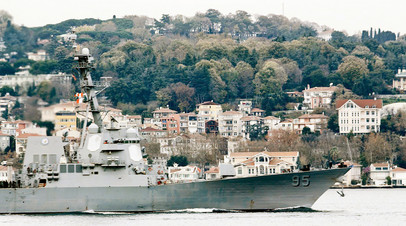 Эскадренный миноносец США USS James Williams DDG95 типа Arleigh Burke