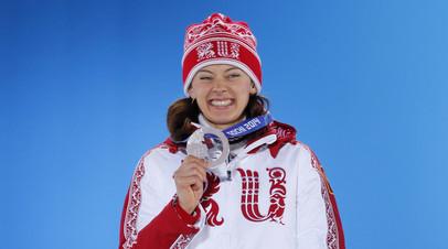 Российская биатлонистка Ольга Вилухина