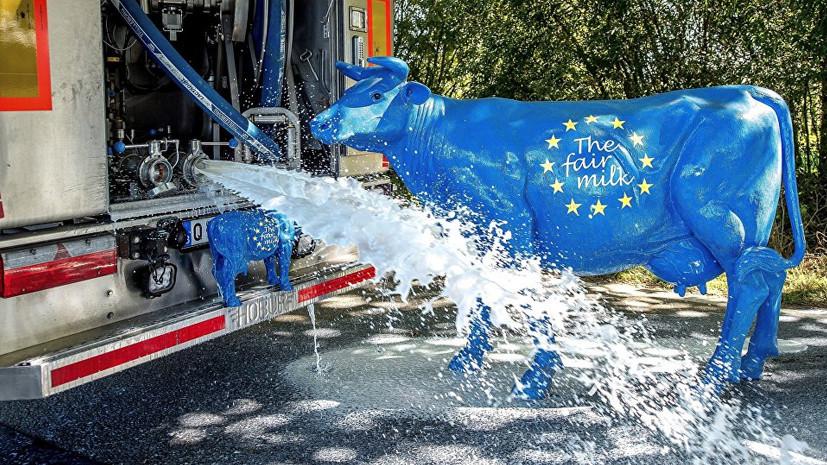 «Сложно вклиниться в Европу»: в США сообщили о невостребованности украинских молочных продуктов в ЕС