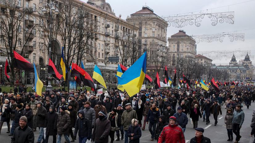 «Рычаг воздействия на Порошенко»: что стоит за митингами Саакашвили против президента Украины