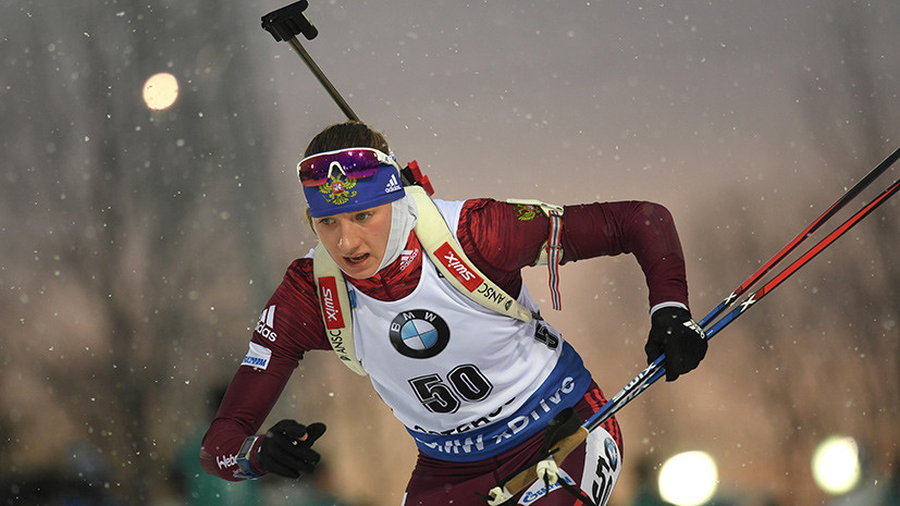 Новые надежды: Миронова стала девятой в женском спринте в рамках этапа Кубка мира по биатлону