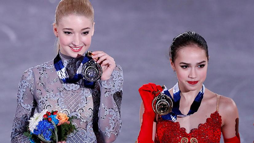Триумф без Медведевой: Алина Загитова выиграла финал Гран-при по фигурному катанию