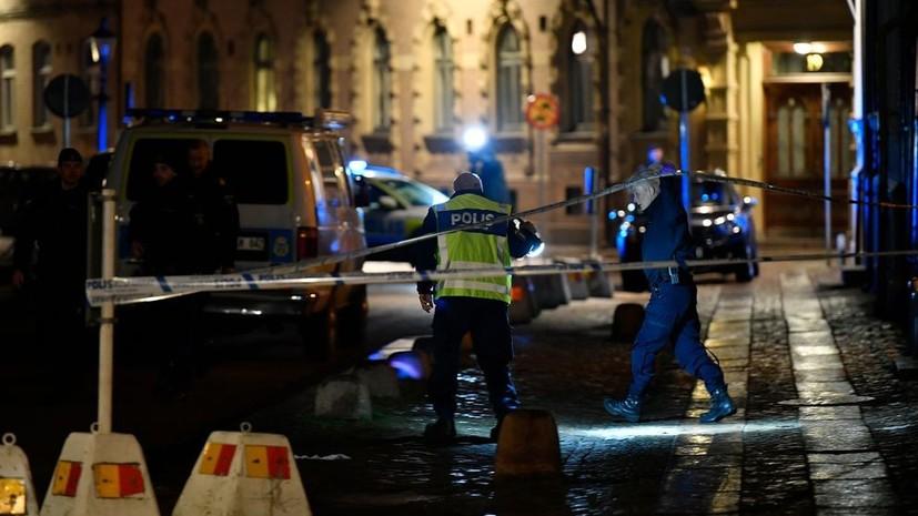 Неизвестные в масках закидали бутылками с зажигательной смесью синагогу в Швеции