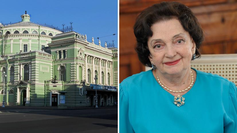 задержаны убийцы старейшей сотрудницы Мариинского театра»
