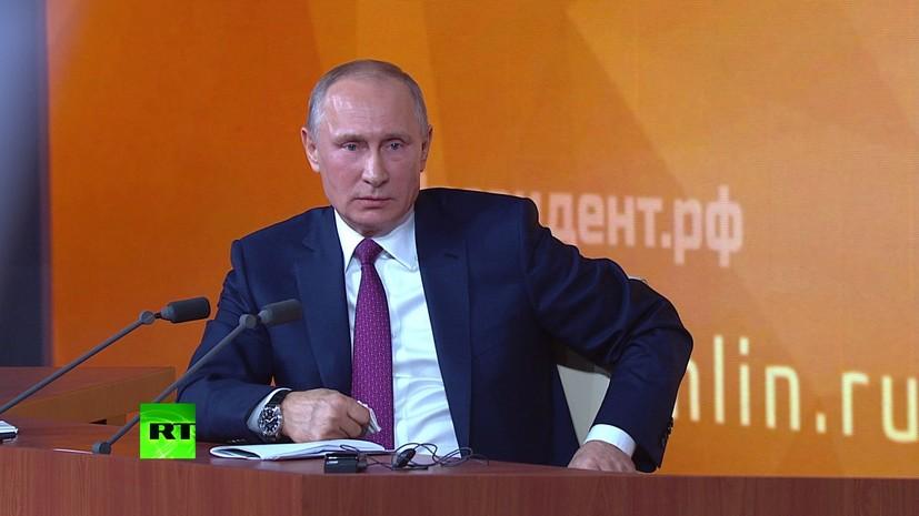Путин назвал правильной работу Кадырова по вывозу российских детей из Сирии