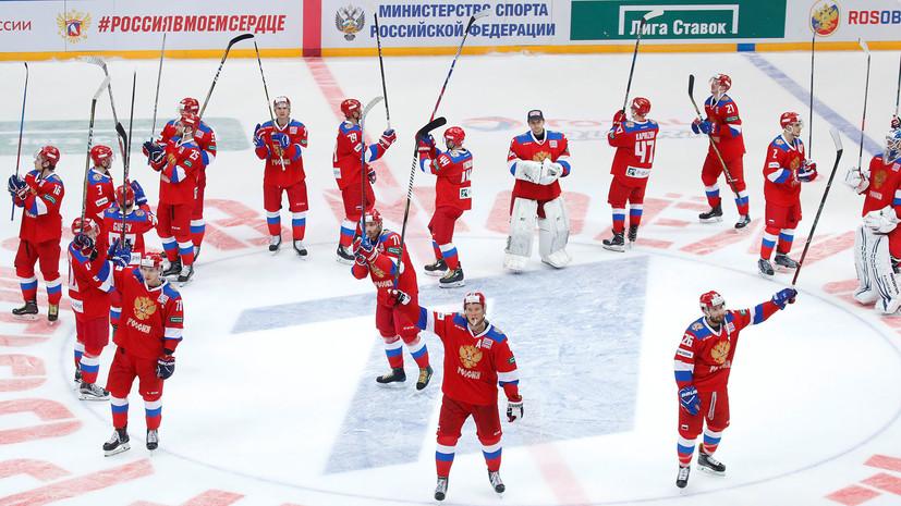 Россия впервые за три года обыграла Швецию на Кубке Первого канала»