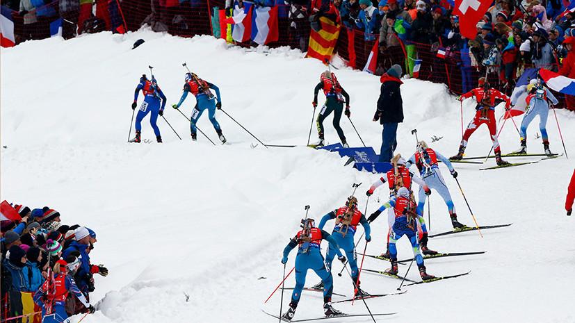 В десятке: Юрлова-Перхт заняла восьмое место в женском масс-старте на этапе Кубка мира по биатлону в Анси