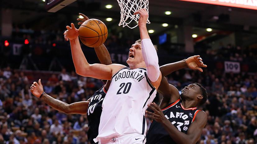 В кольце неприятностей: почему единственный россиянин в НБА не играет даже в слабой команде