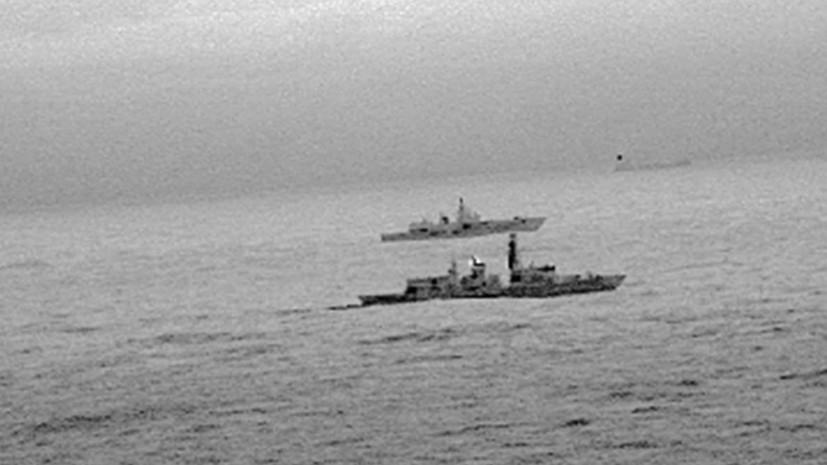 Британские ВМС сопровождали российский фрегат «Адмирал Горшков» в Северном море