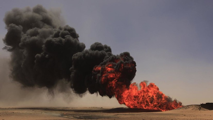 Взрывная волна: атака боевиков на трубопровод в Ливии привела к рекордному росту цен на нефть
