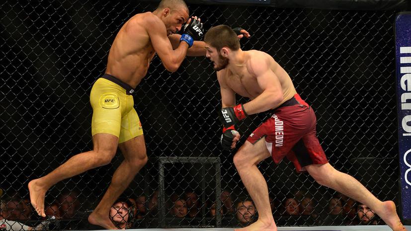 Нурмагомедов победил Барбозу единогласным решением судей на турнире UFC 219