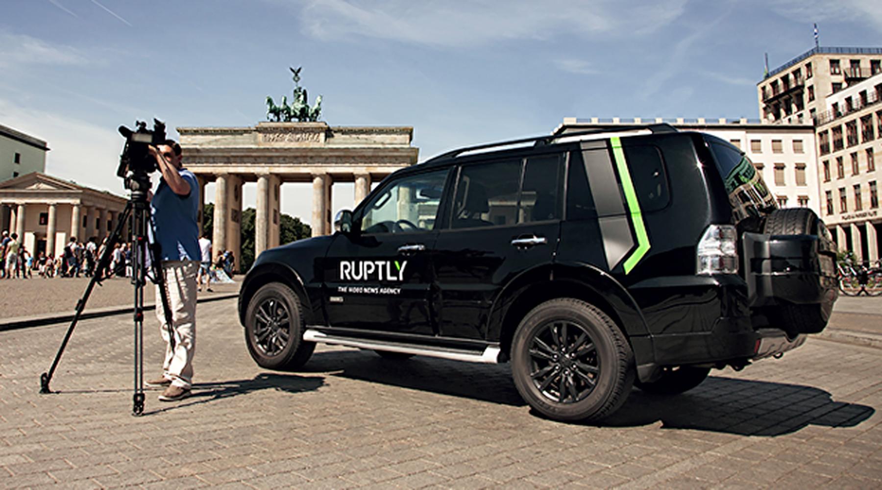 Сервис RT для прямых трансляций Ruptly LIVE вышел в финал премии Global Media Innovator