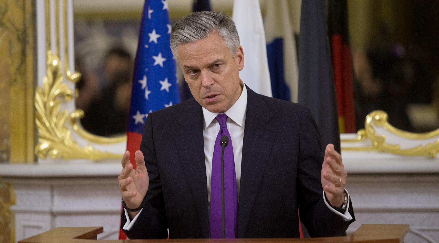 как посол США попытался оправдать лишение RT доступа в конгресс и подтасовал факты»