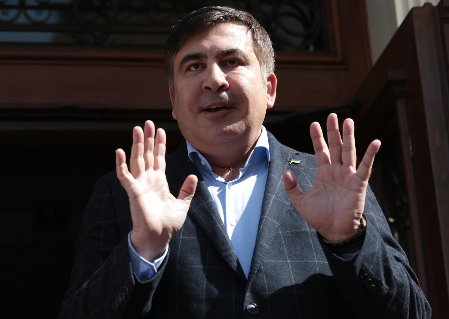 «Без сопротивления и пострадавших»: в Киеве задержан Михаил Саакашвили