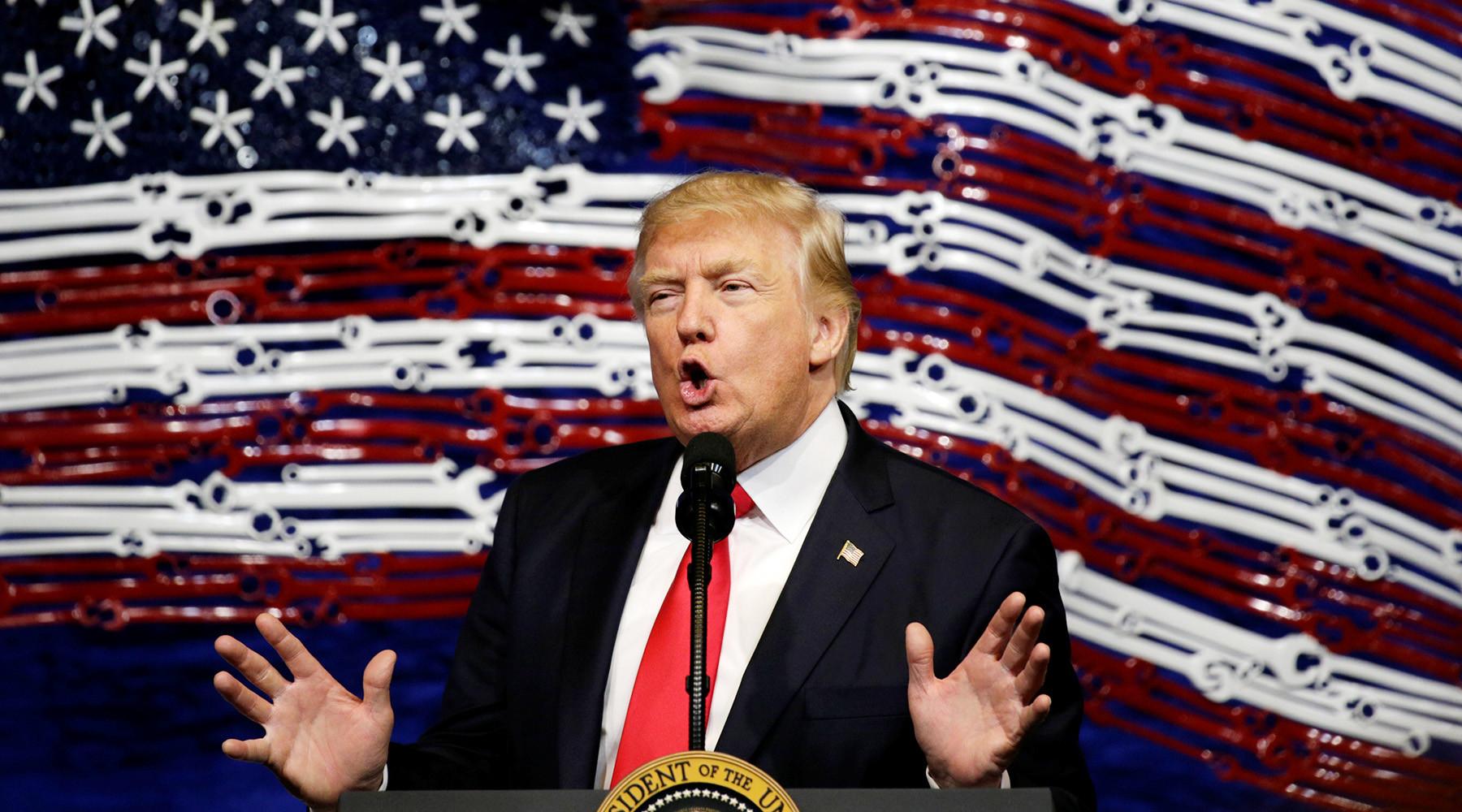 Как Трамп оправдал удары США по правительственным войскам в Сирии