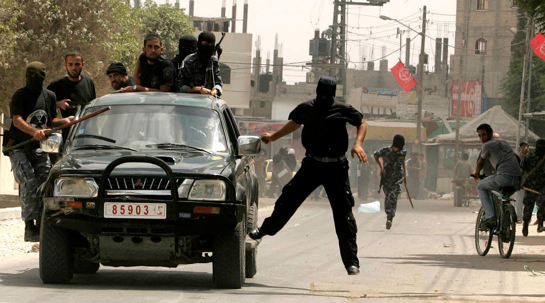 Израильская милиция перекрыла проход через Дамасские ворота вИерусалиме