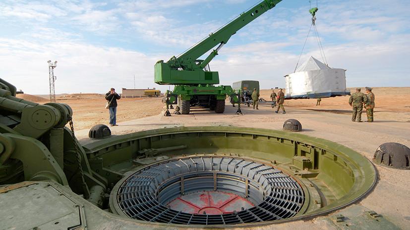 День ракетных войск стратегического назначения отмечает свое 58-летие в Российской Федерации