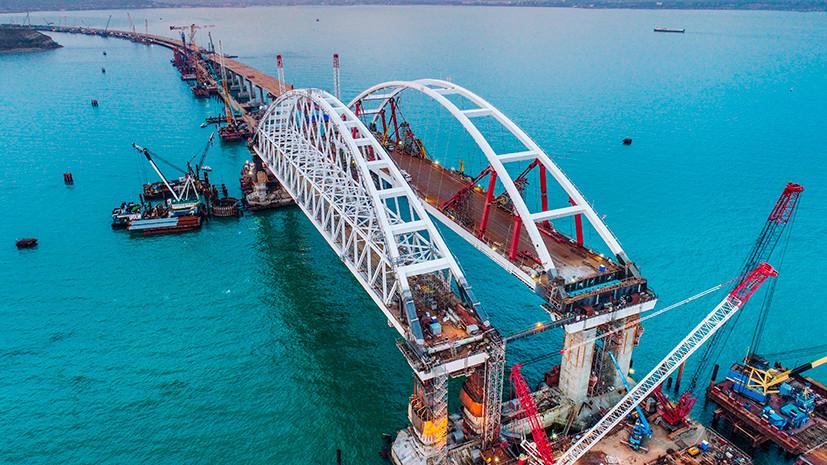 Второй крымский «референдум»: россияне выбрали название для моста через Керченский пролив