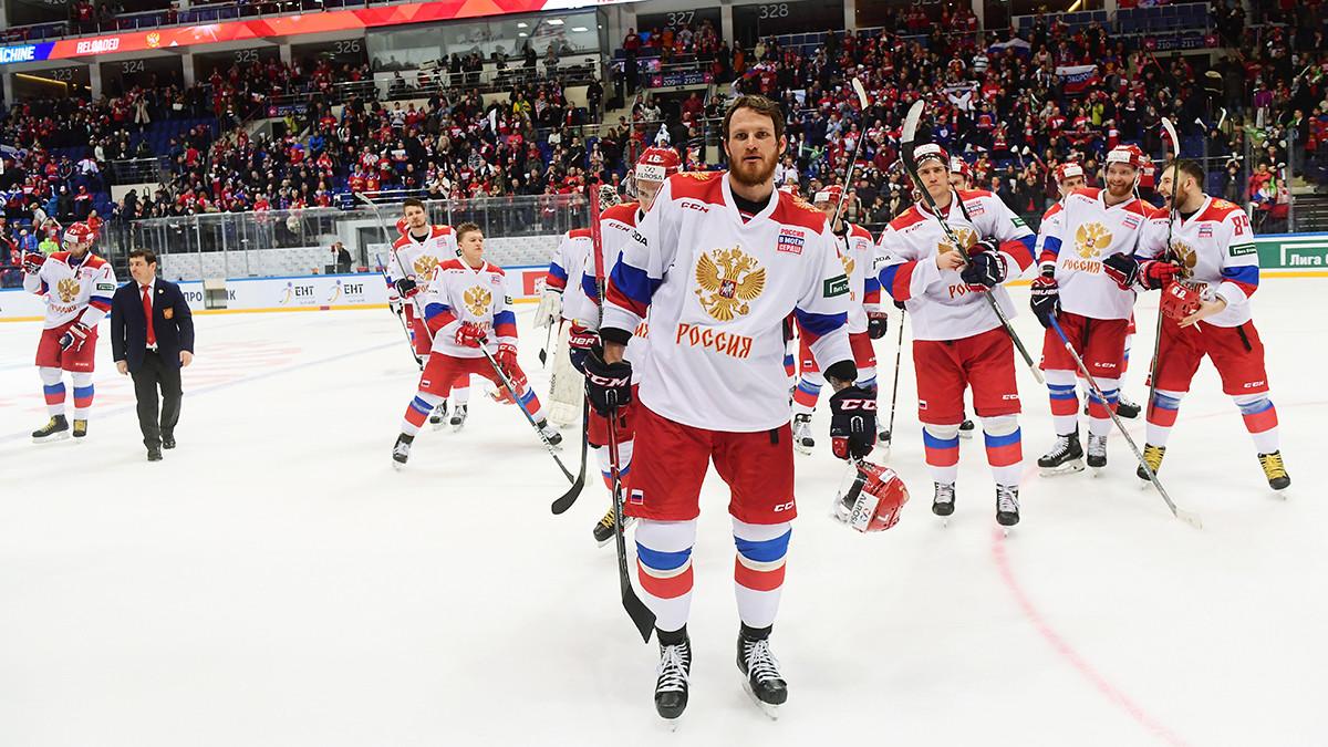 «К Олимпийским играм готовы на 70—80%»: что говорили после победы сборной России на Кубке Первого канала