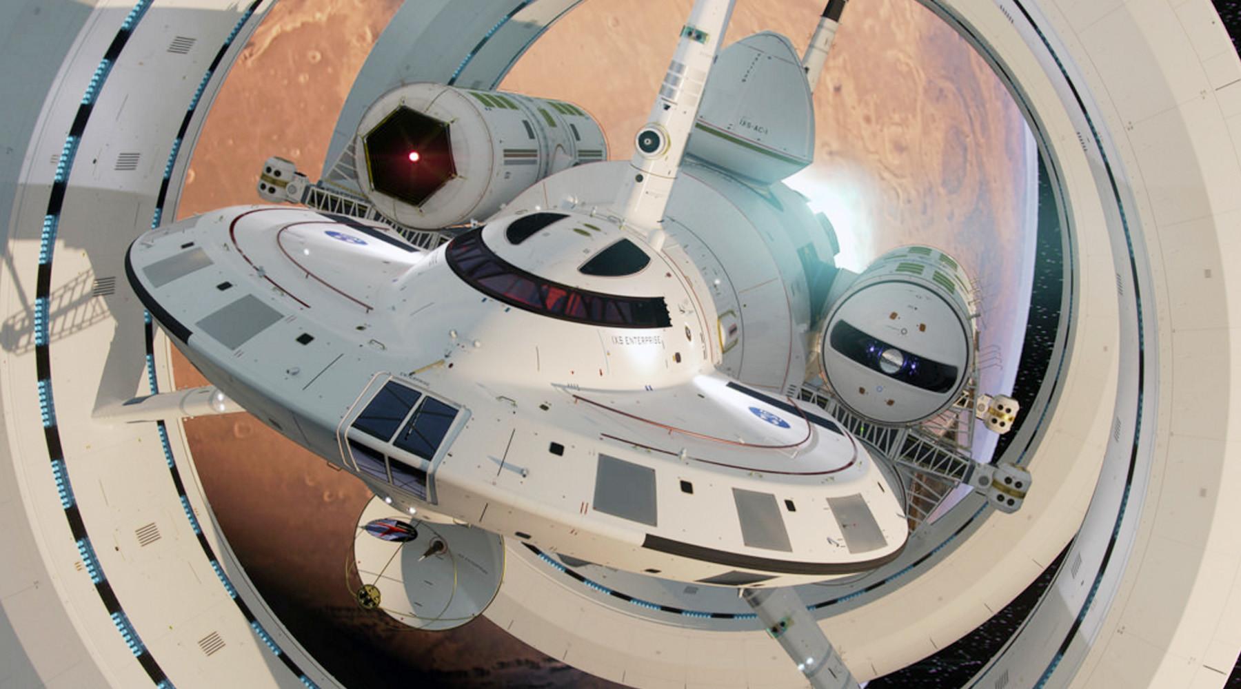 nasa future spaceship - HD1800×1000