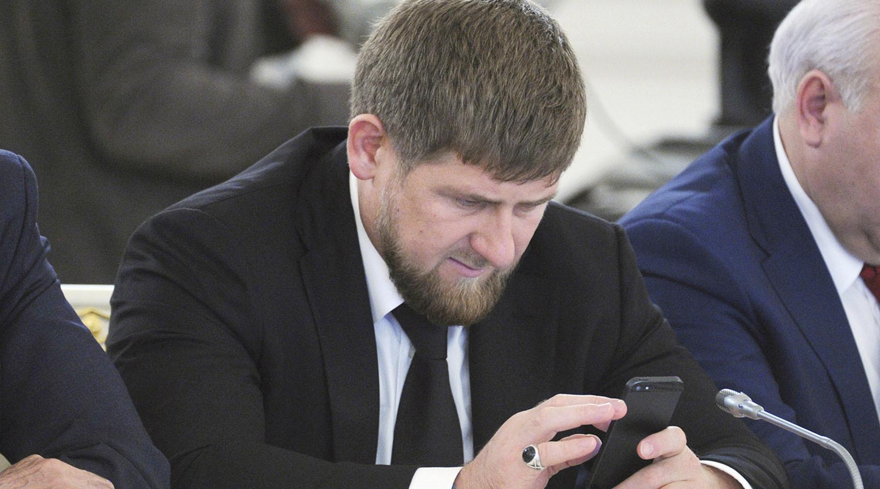 Аккаунт Рамзана Кадырова в социальная сеть Instagram стал недоступен