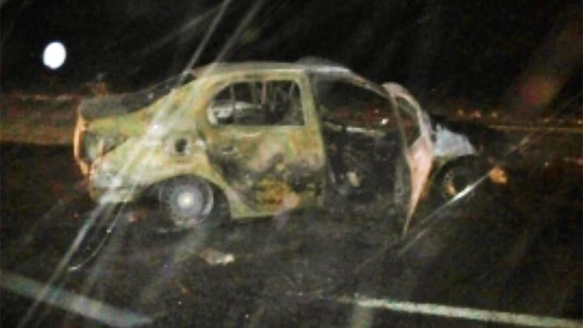«Рено» врезался в грузовой автомобиль под Орском: трое погибших