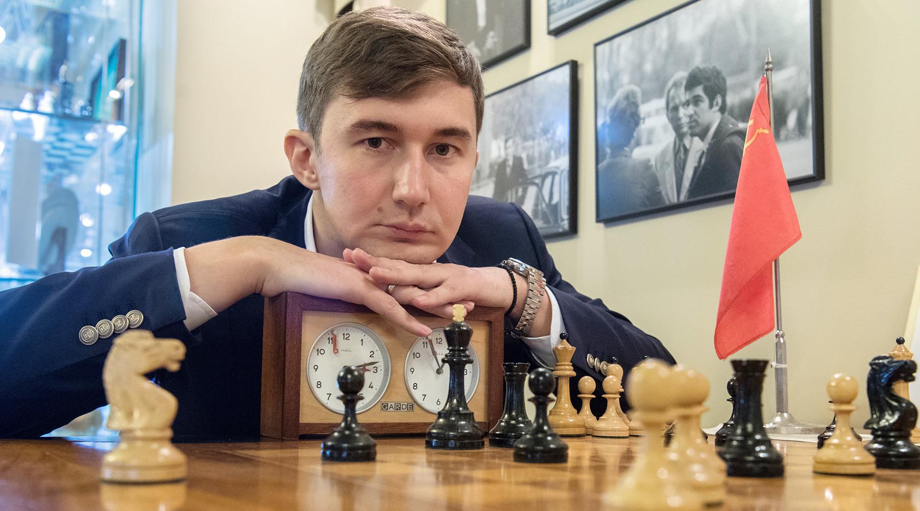 Сергей Карякин стал вторым начемпионате мира побыстрым шахматам