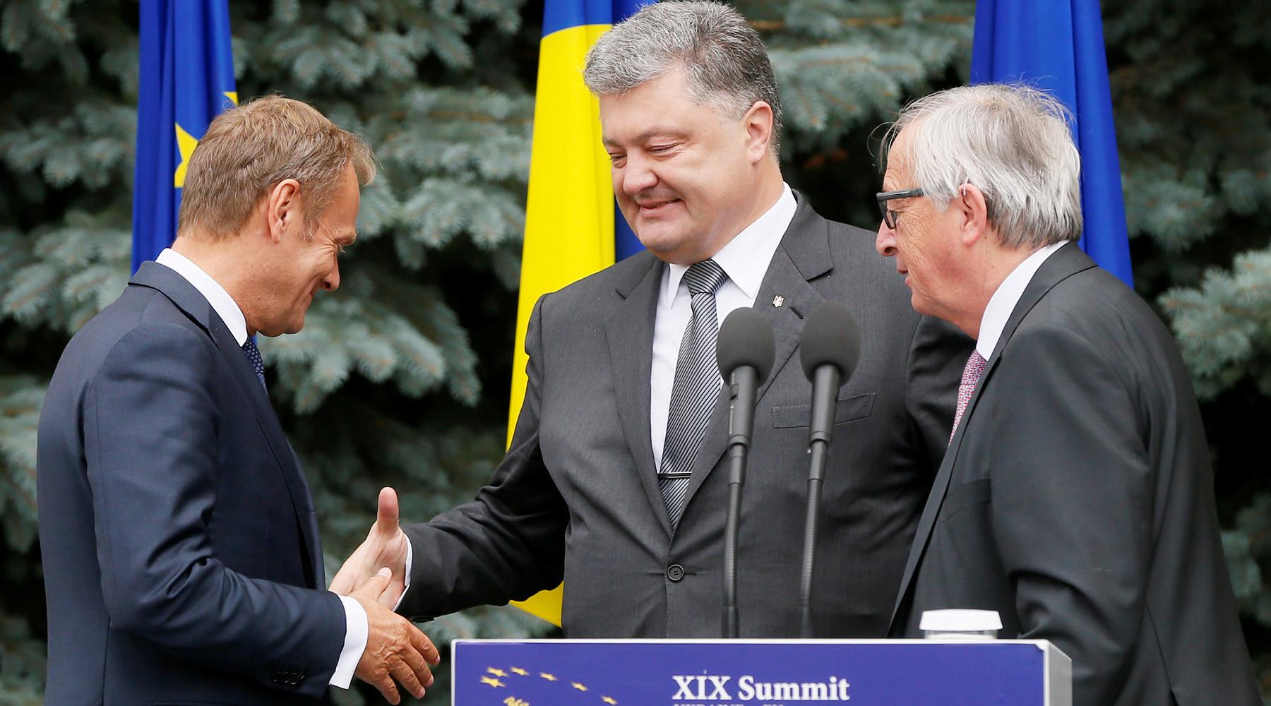В Еврокомиссии признали выделение €355 млн Украине в ответ на действия России